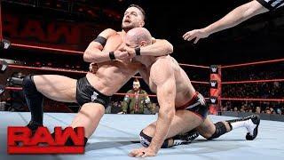 Finn Bálor vs. Cesaro: Raw, Oct. 30, 2017