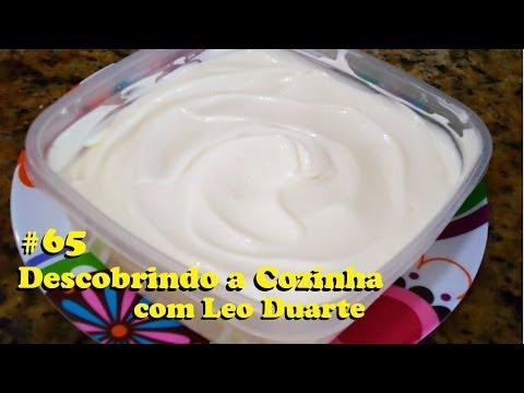 MAIONESE CASEIRA igual à famosa do mercado Descobrindo a Cozinha 65