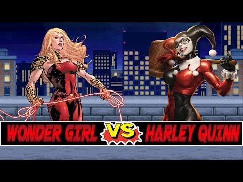 Xxx Mp4 M U G E N Battles Wonder Girl Vs Harley Quinn 3gp Sex