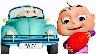 Five Little Babies Driving Vehicles | Transport Vehicles For Kids | Zool Babies Surprise Eggs