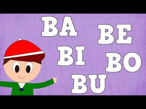 Xxx Mp4 Sílabas BA BE BI BO BU Syllable With B Aprender A Leer Y Escribir Vídeos Para Niños 3gp Sex