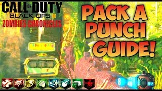SHANGRI LA PACK A PUNCH EASY GUIDE! - ZOMBIES CHRONICLES BLACK OPS 3 Tutorial Pap Gameplay