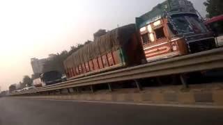 Worst traffic jam on Faizabad Road