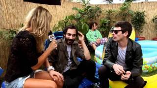 Red Bull Bedroom Jam Backyard Jam 2010 - Blue Juice Interview