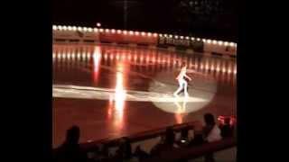 Eiskunstlaufen: Schaulaufen