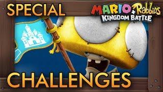 Mario + Rabbids Kingdom Battle DLC - Special Challenge 1-S1 & 1-S2 (World 1)