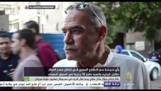 ما رأي المصريين في ارتفاع سعر الدولار مقابل الجنيه المصري حاجز 12 جنيها