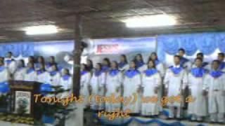 Shake the foundation - JMCIM Finest Choir Binangonan Outreach