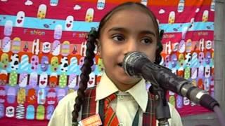 Punjabi Boliyan by Small school girl