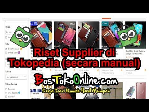 Cara Riset Supplier