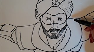 A Flying Jatt  Drawing super hero movie indian - Tiger shroff 2016