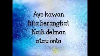 Cherrybelle - Pergi Ke Bulan Lyrics(lirik)
