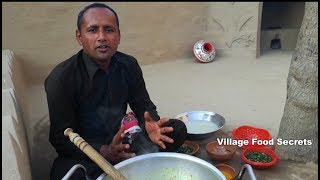 Pakistani Village Food | Pech DI Curry | Rice Water Curry | Grandma's Style | Village Food Secrets