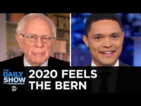 Bernie's Back, Kamala Gets Questioned, Gillibrand Eats Chicken & Booker Doesn't   The Daily Show