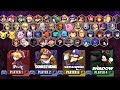 Super Smash Bros Legacy XP - All Characters