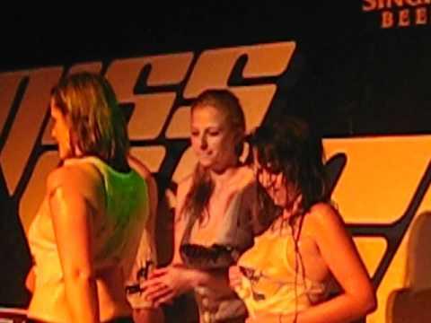 Miss Wet Shirt contest. Aussie girls. Sound Club. 2