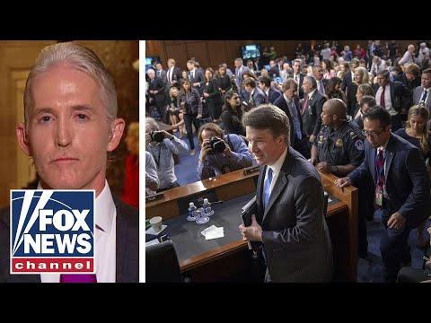 Trey Gowdy on Dems behavior at Kavanaugh hearings