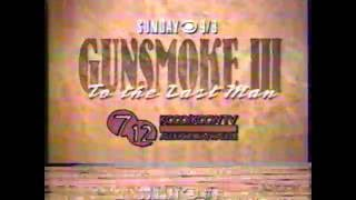 return to gunsmoke III 3 to the last man james arness movie commercial