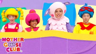 Six in the Bed | Mother Goose Club Songs for Children | Songs for Kids