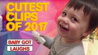 Cutest Baby and Toddler Clips of 2017 | The Cutest Compilation