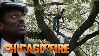 Man Hangs From A Tree | Chicago Fire