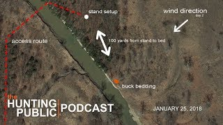 Video Podcast #1 | Mapping and Backtracking Bucks After Season - The Hunting Public