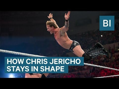 How 46-year-old WWE superstar Chris Jericho stays in shape