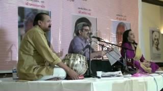 Shree Amar Bhatt and Himali Vyas Naik at દસમું દ્વિવાર્ષિક સાહિત્ય સંમેલન [GLAofNA]