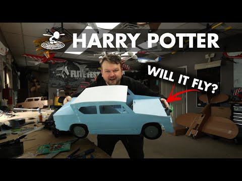 I will build a flying Harry Potter car