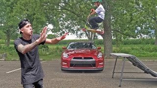 ROCCO JUMPS ROMAN ATWOODS GTR!