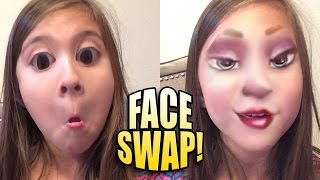 FACE SWAP LIVE with Jillian!!! Funny App on JillianTubeHD!
