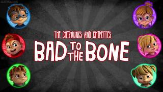 The Chipmunks and Chipettes - Bad to the Bone (with lyrics)