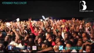 Stonebwoy peace concert