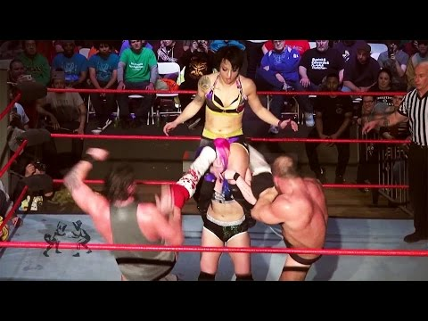 [Free Match] Heidi Lovelace (Ruby Riott) & Kimber Lee v Dickinson & Callihan (Intergender Wrestling)