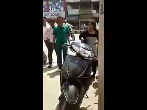 Indian girls funny abusing , indian lady fight