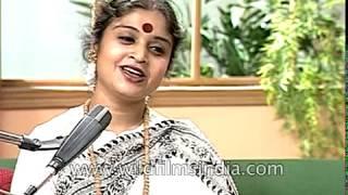Sromona Chakraborty sings