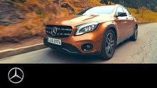 Mercedes-Benz GLA in Hungary | #MBvideocar