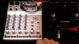 Audio Mixer with a DSLR Camera - how to