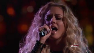 17-Year Old Emily Ann Roberts Sings Cam's Burning House - The Voice