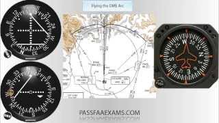 How to Fly a DME Arc
