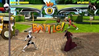 Power Ranger Ninja Steel Vs TMNT Ultimate Hero Clash 2