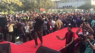 Dj Sonica live Shanto Mariam picnic 2017 , Jabra fan dance performance by Eyamin