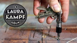 Clever Keyring with Screwdriver