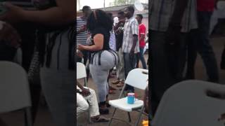 The woman with the biggest Booty in Africa