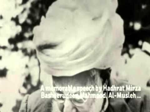 Beautiful And Rare Speech By  Musleh maod