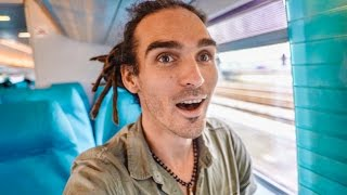 ON THE FASTEST TRAIN IN THE WORLD!
