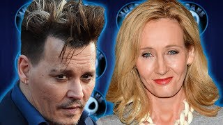 J.K. Rowling backs Johnny Depp