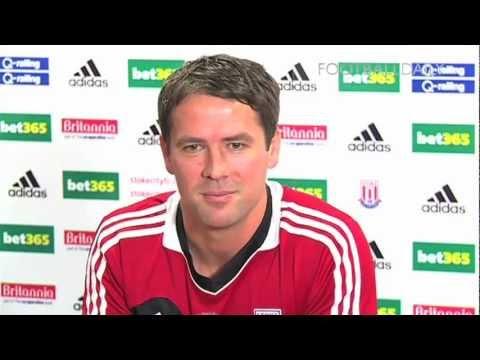 Michael Owen on joining Stoke City