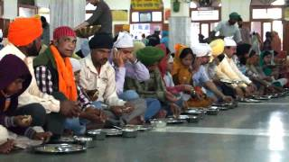 "Golden Temple: Langar Hall ""The world´s biggest free eatery"" www.journeytoinfinity.de"