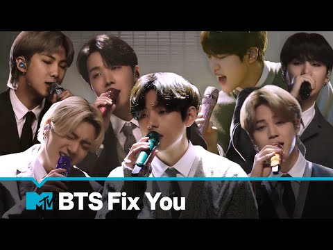 BTS Performs Fix You Coldplay Cover MTV Unplugged Presents BTS